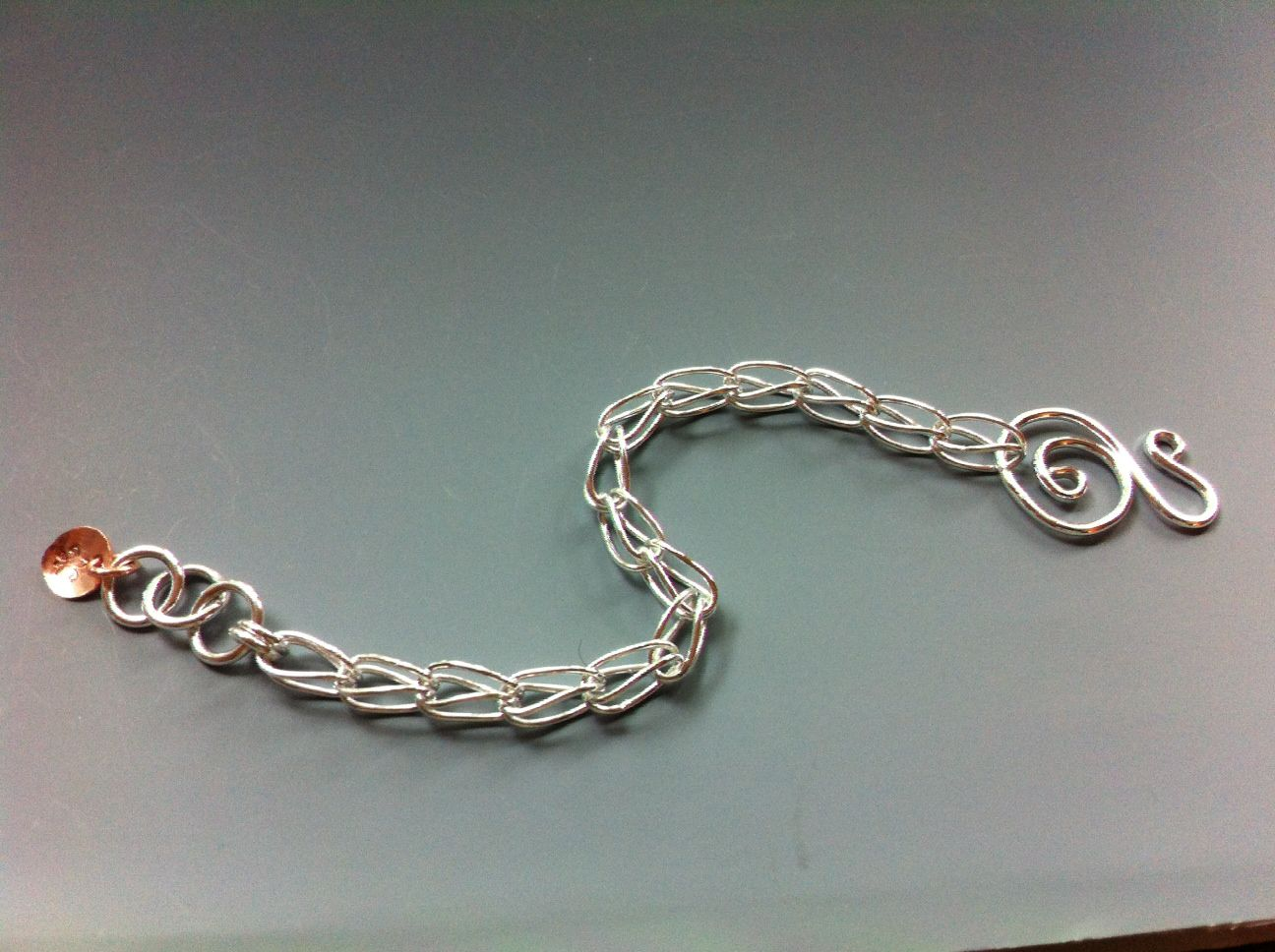 handmade jewelry, sterling silver, fabulous new design - ROMAN weave.  repin!  www.laurateague.com/bracelets.html