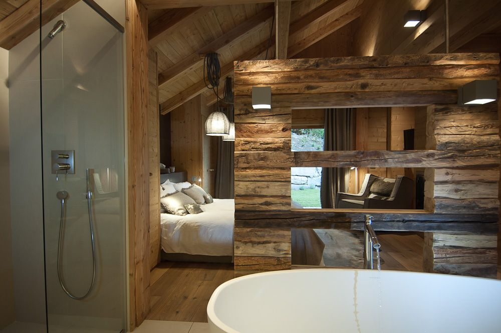 Chalet Belliou décoration prestige luxe montagne | ambiance chalet ...