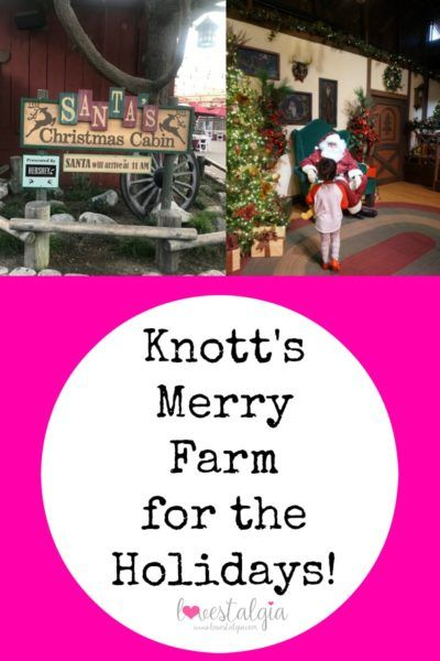 Knott's Merry Farm for the Holidays!