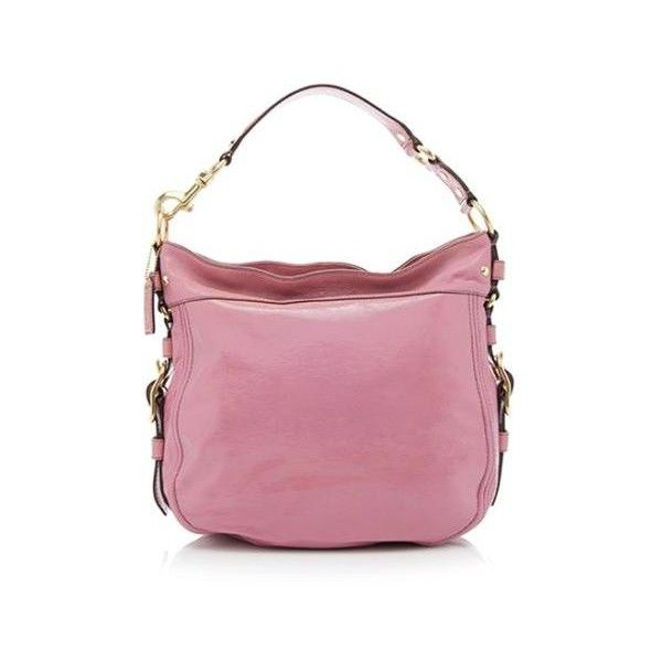 Pre Owned Coach Patent Leather Convertible Zoe Hobo 125 Liked On Polyvore