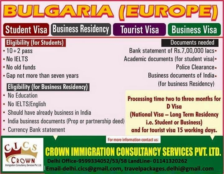 All types of visa Overseas Updates Pinterest Bulgaria - canadavisa resume builder