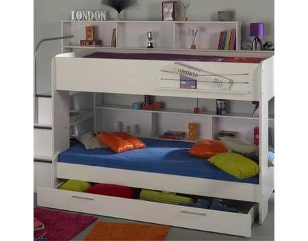 Etagenbett Bibop : Schlafzimmer set tlg inkl etagenbett u kleiderschrank