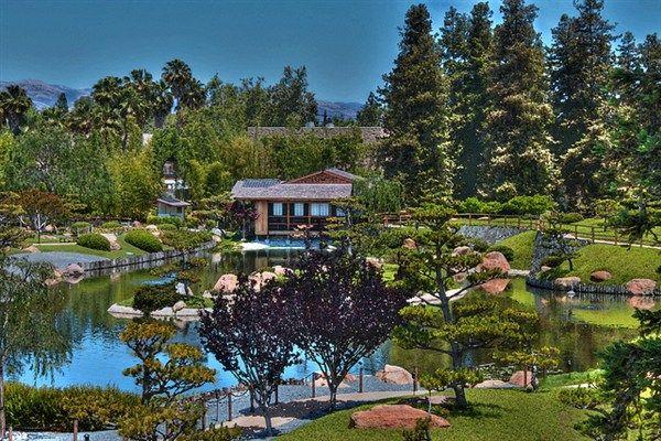 Japanese Garden At Lake Balboa   Van Nuys, CA