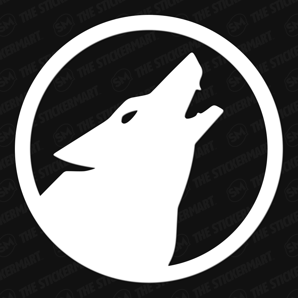 Halo Lone Wolf Legend Vinyl Decal Lone Wolf Vinyl Decals Halo