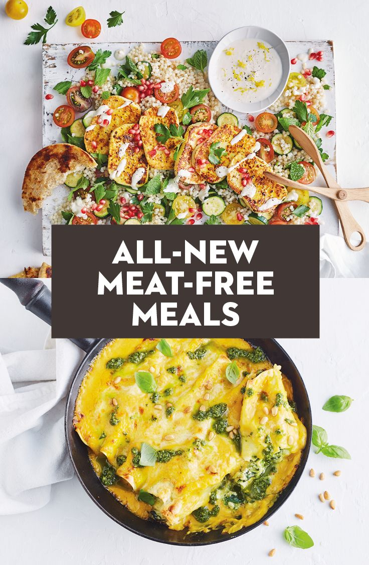 All New Meat Free Meals Weight Loss Healthy Potatoes