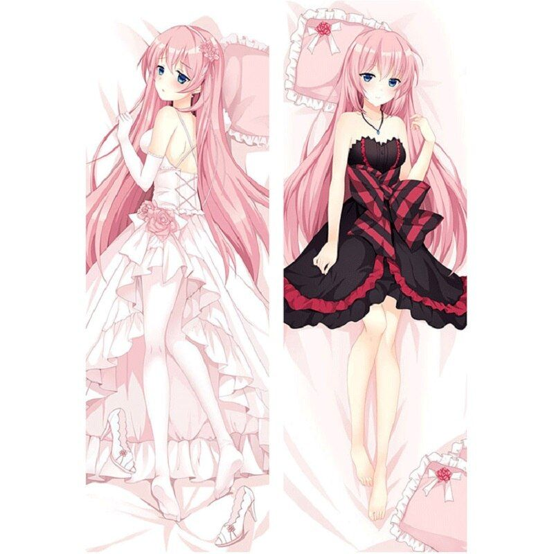 Vocaloid Dakimakura Hatsune Miku Megurine Luka Anime Hugging Body Pillow Case