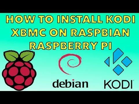 install kodi raspberry pi 1