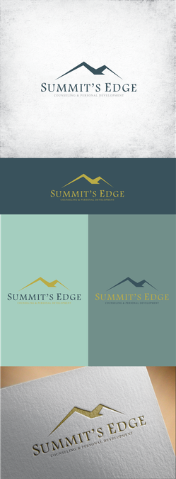 Create a unique logo for Summit's Edge Counseling
