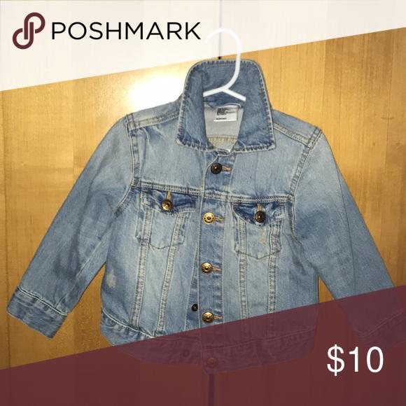 7aea10b867931 Jean Jacket Blue Toddler boy jean jacket. Never worn. Jackets   Coats Jean  Jackets