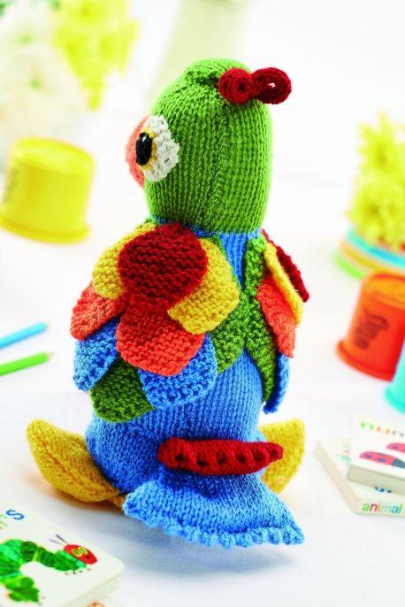 Jason the Parrot - Free Knitting Patterns - Kids Patterns | Loros ...