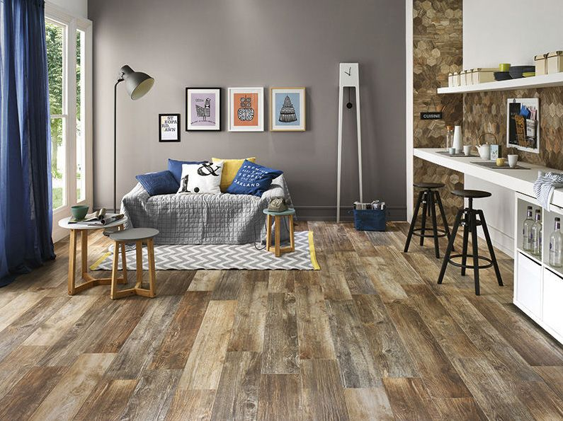 the wood look tile trend is going strong and weve discovered some amazing - Wood Tile Floor Living Room