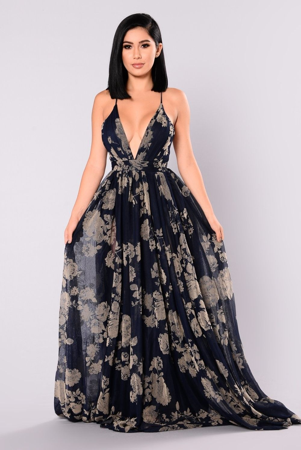 a3ed1210521 Maxi floral Dress Fashion Nova