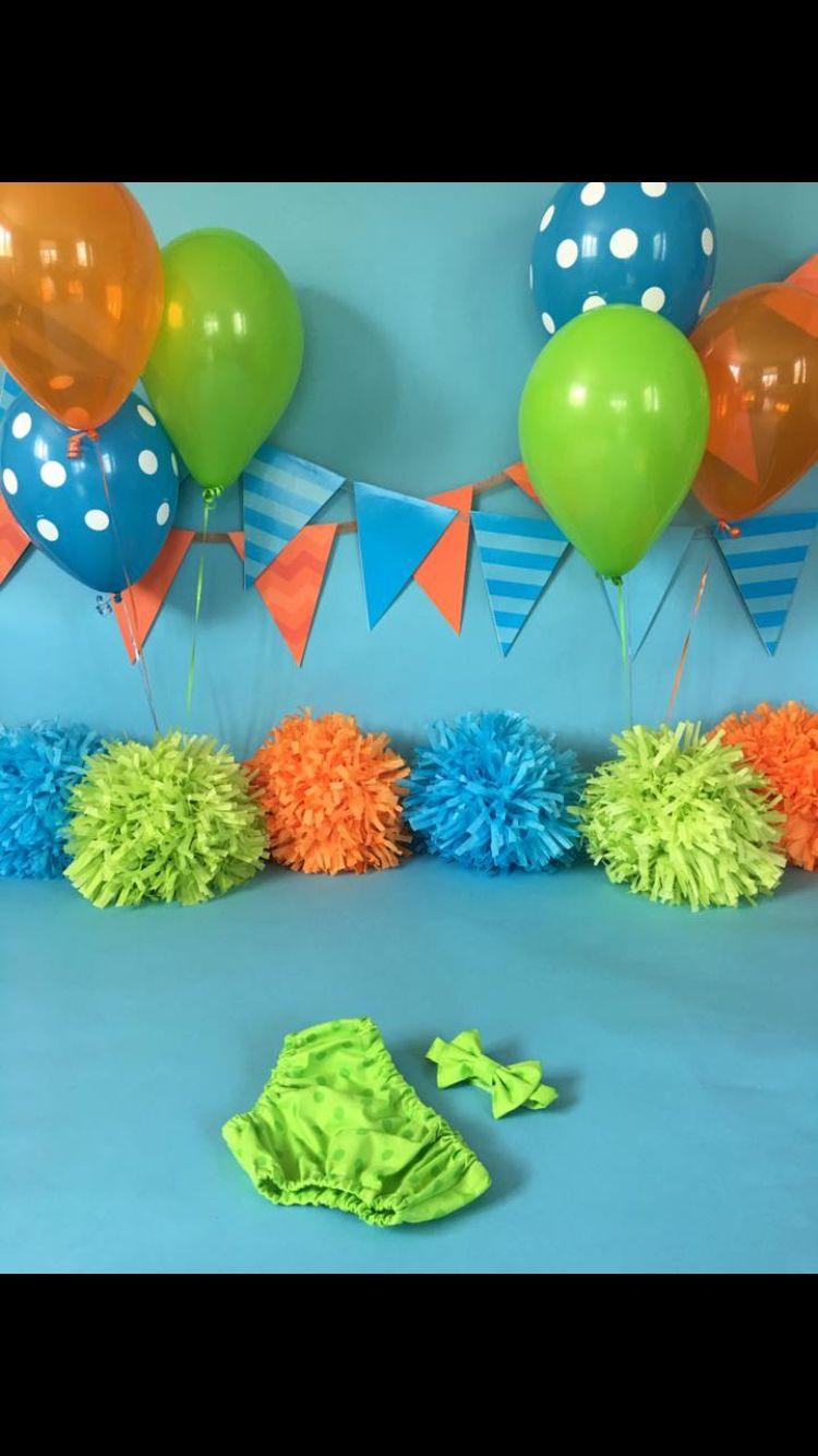 1st Birthday Themes Caels Cake Smash Session Monsters Theme Morriah Kovar Photography Rochester MN Boys First