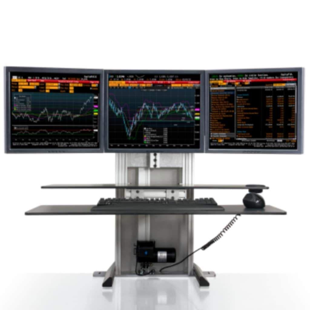 Ergotech One Touch Monitor Mount Standing Desk
