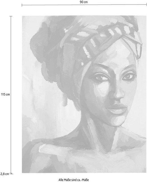 Leinwandbild »Gemälde Lamina«