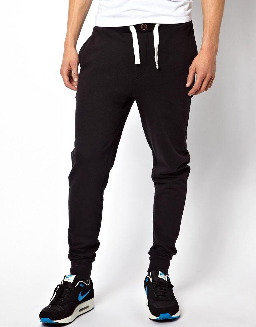 f2466ecba2d11 Image 1 - ASOS - Pantalon de jogging coupe skinny avec fermeture éclair et  taille boutonnée