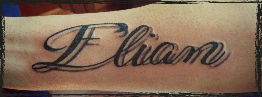 Caligrafia Letras Tattoo Nombre Elian Name Tattoo Tattoos Fish Tattoos