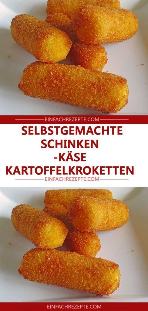 Photo of Homemade ham, cheese and potato croquettes 😍 😍 😍