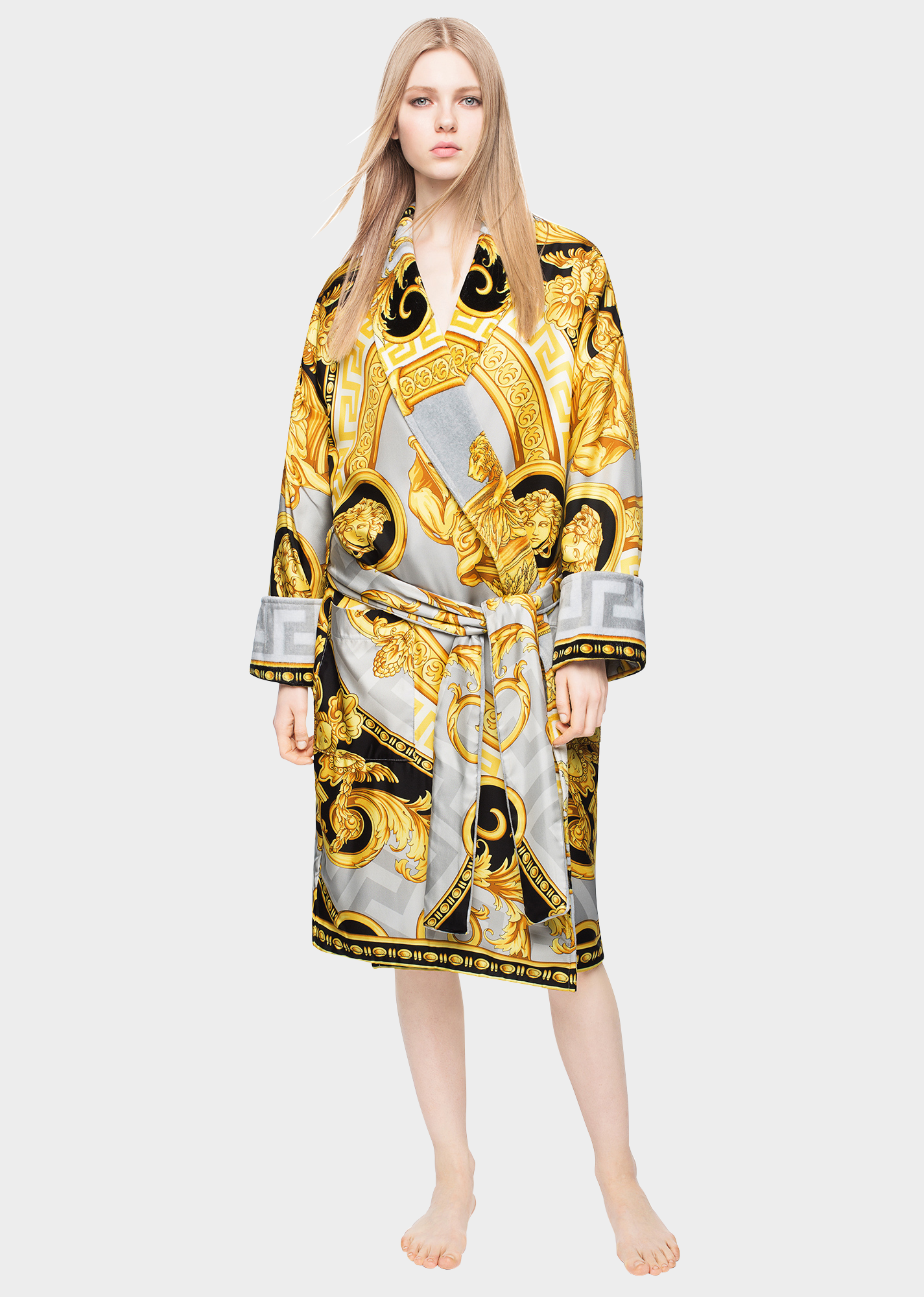 47ef0bf64 La Coupe des Dieux Dressing Gown by Versace Home. The La Coupe de Dieux  dressing gown is crafted from silk and lined in super-soft cotton.