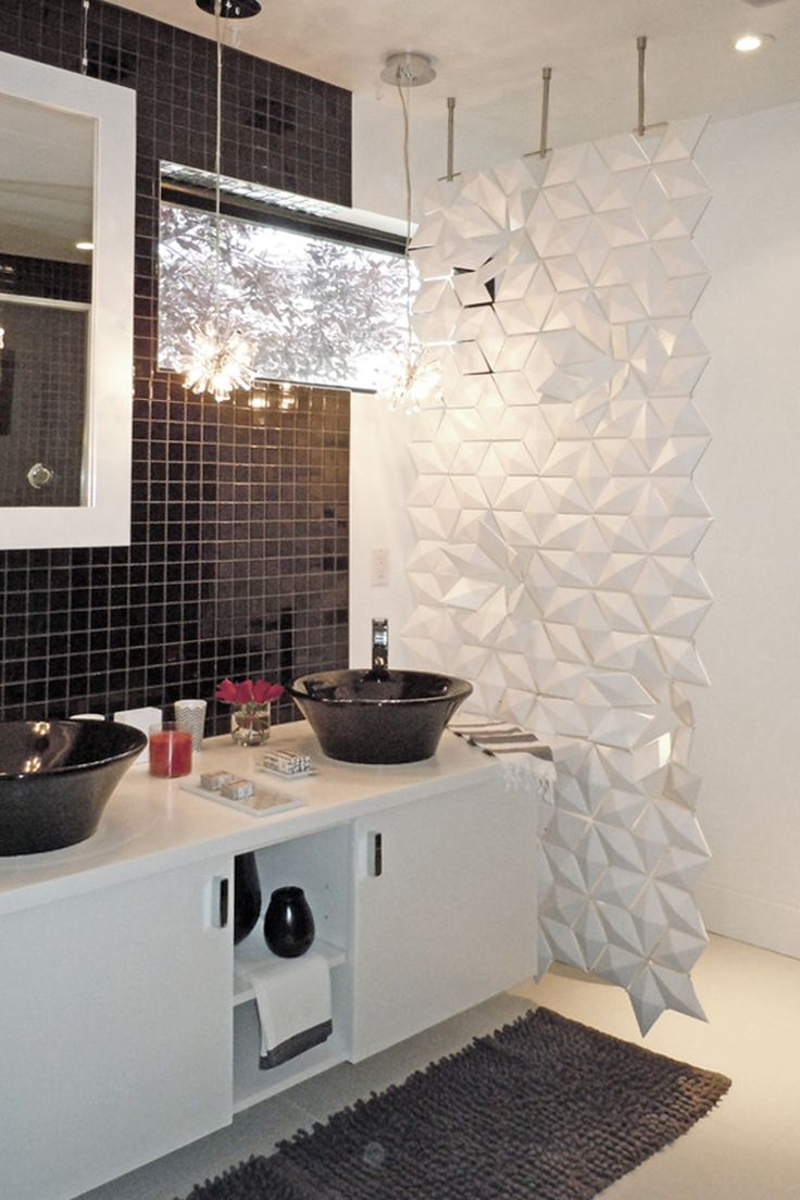 Playful Bathroom Divider For A Modern Bathroom Divider Screen - Bathroom divider panels
