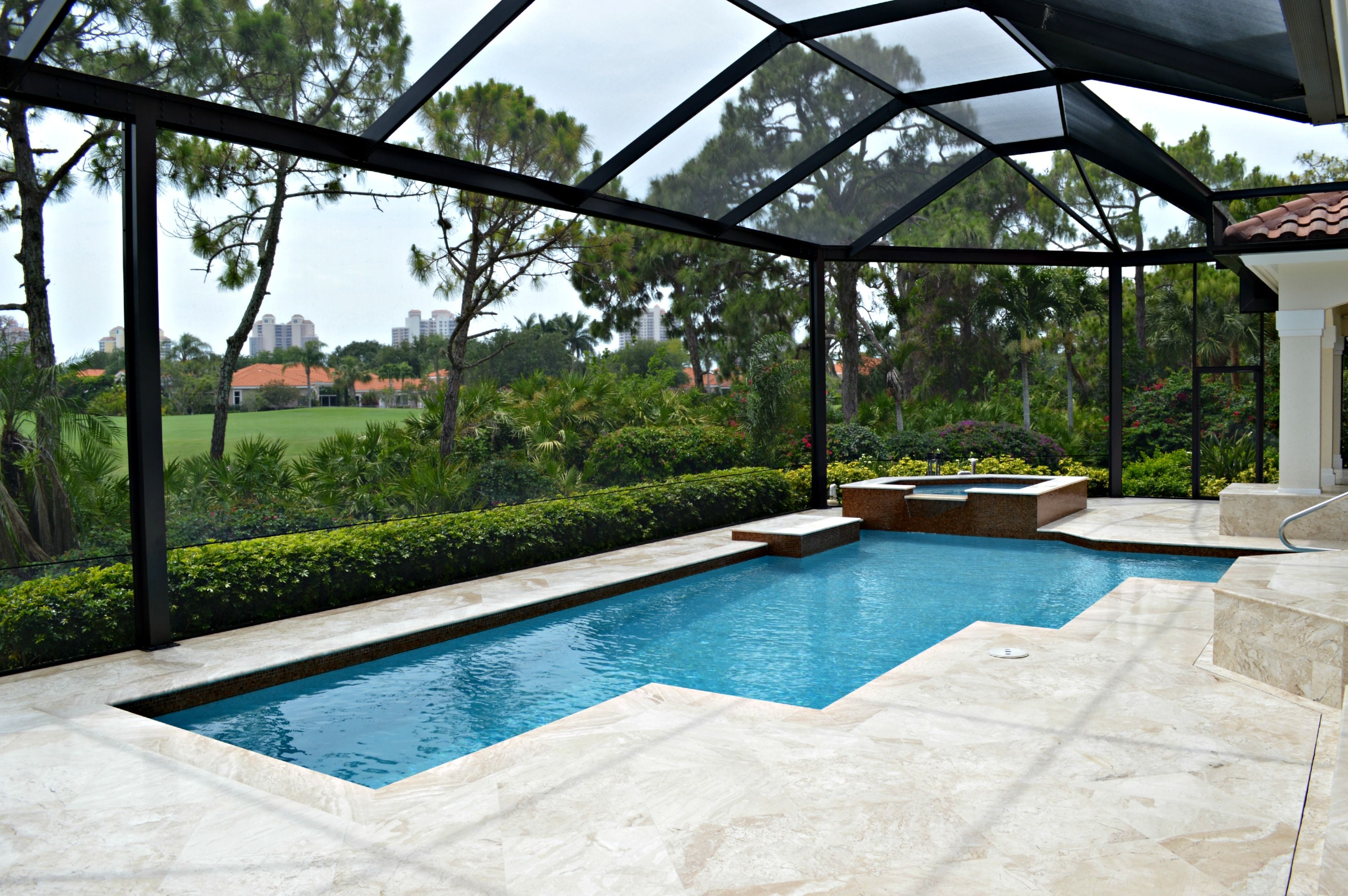 Choosing Screen Enclosures What Size Is Right For Me Hendry Aluminum Screen Enclosures Florida Pool Screened Pool