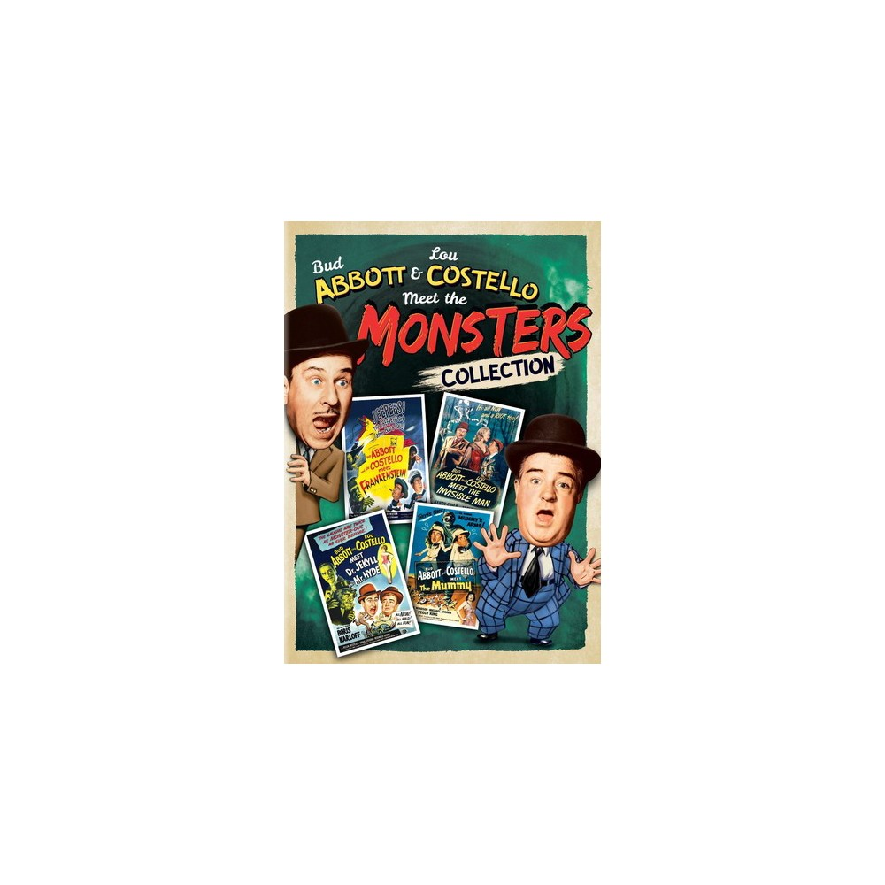 Abbott Costello Meet The Monsters Collection Abbott And