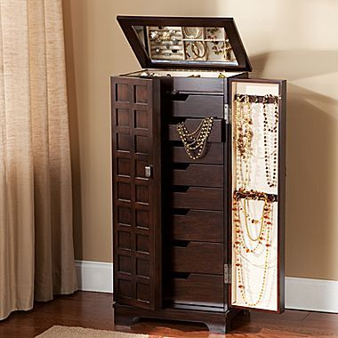 Jewelry Armoire Jewelry Armoire Wall Mounted Jewelry Armoire