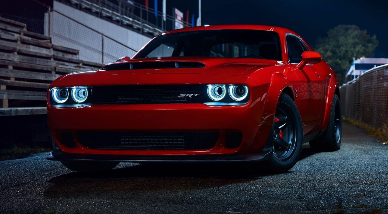2018 Dodge Demon Front View Dodge Challenger Hellcat Challenger