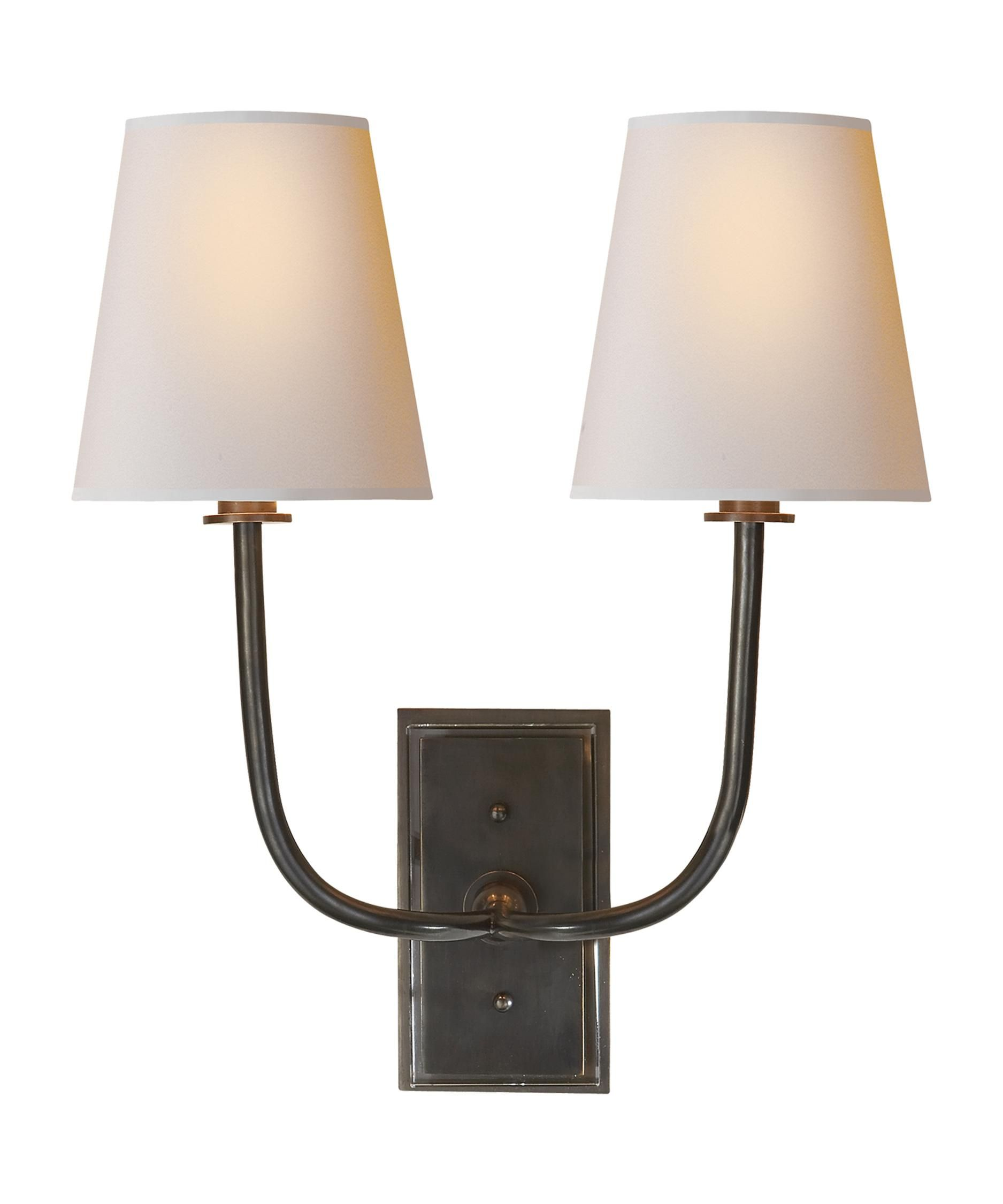 visual dr pin sconce inch comfort hulton wall