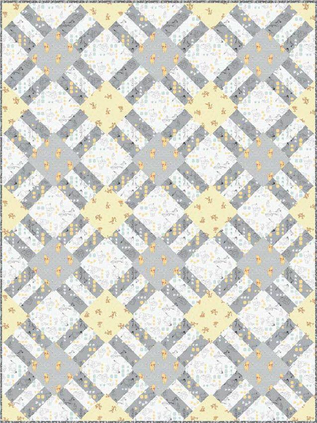 Winnie The Pooh - Cracker Lattice Free Quilt Pattern   Quilt Designs ...