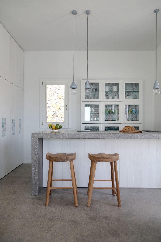 Innendesignerin  Sommer auf Syros | Sommerhaus, Architekten und Küchen inspiration