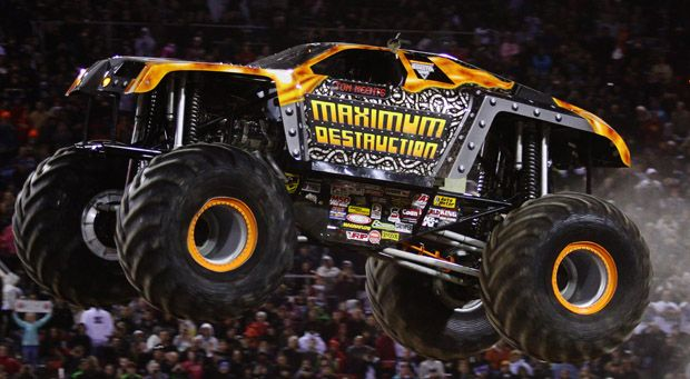 Maximum destruction monster truck for Maximum destruction coloring pages