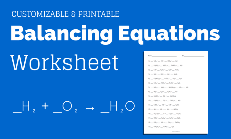 Customizable And Printable Worksheet For Practicing Balancing
