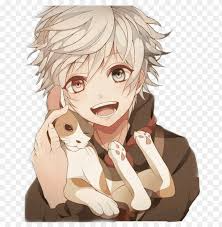 picture White Hair Boy Anime Child pin on anime