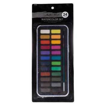 Acrylic Paint Set With Easel 51 Pieces Hobby Lobby 1626183