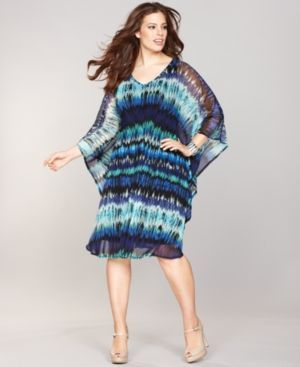 Summer dresses plus size cheap with scrunch top