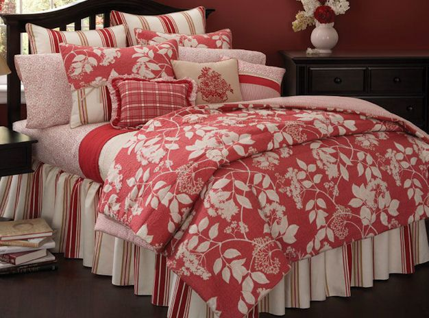 Southern Seasons ~ lovely mix of floral & stripes | Linens ...