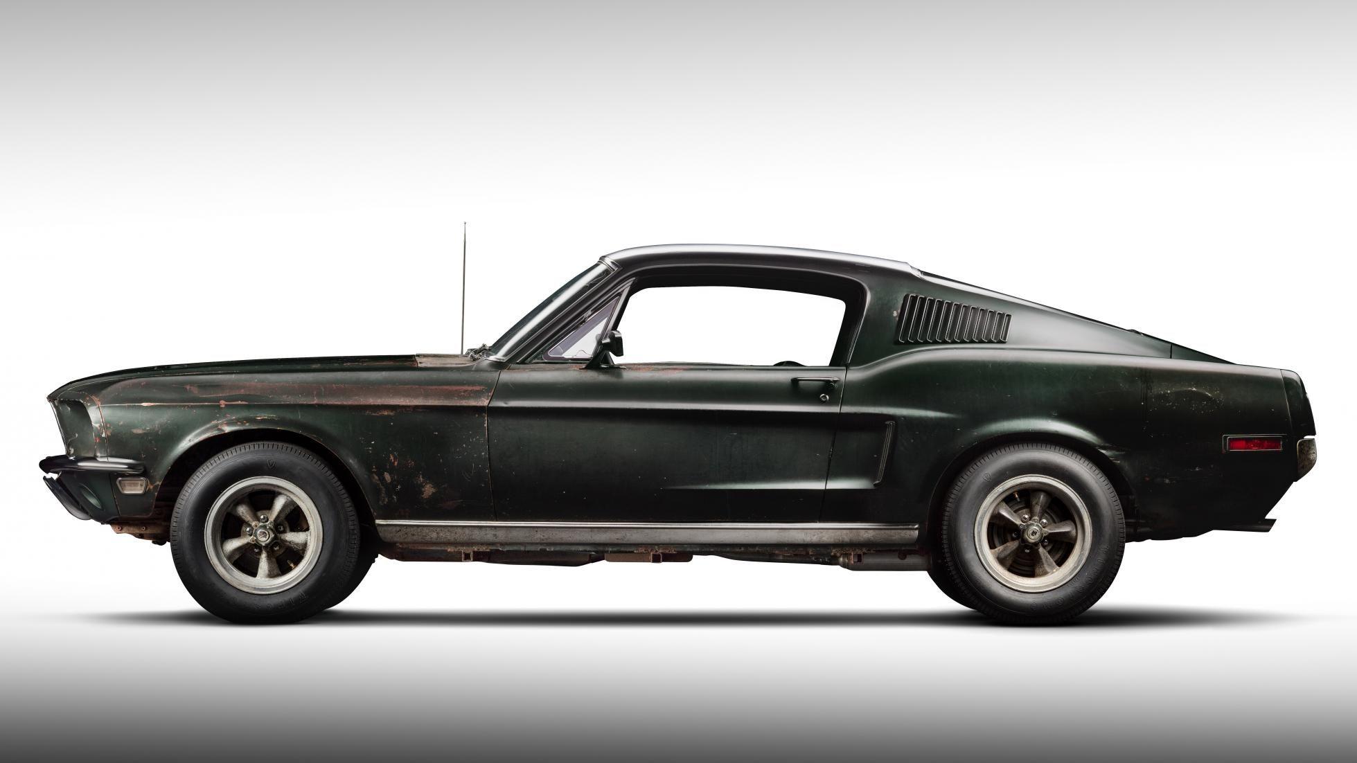 The Story Behind Steve Mcqueen S Bullitt Mustang Ford Mustang