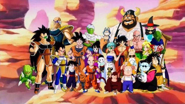 Saga Saiyajins Dragon Ball Desenhos Animados Desenhos