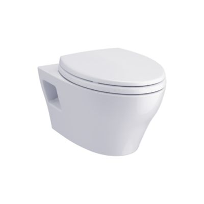 This Sleek And Modern Wall Hung Toilet Offers An Elongated Bowl And Skirted Design Along With Our Powerful D In 2020 Wall Hung Toilet Dual Flush Toilet Small Bathroom