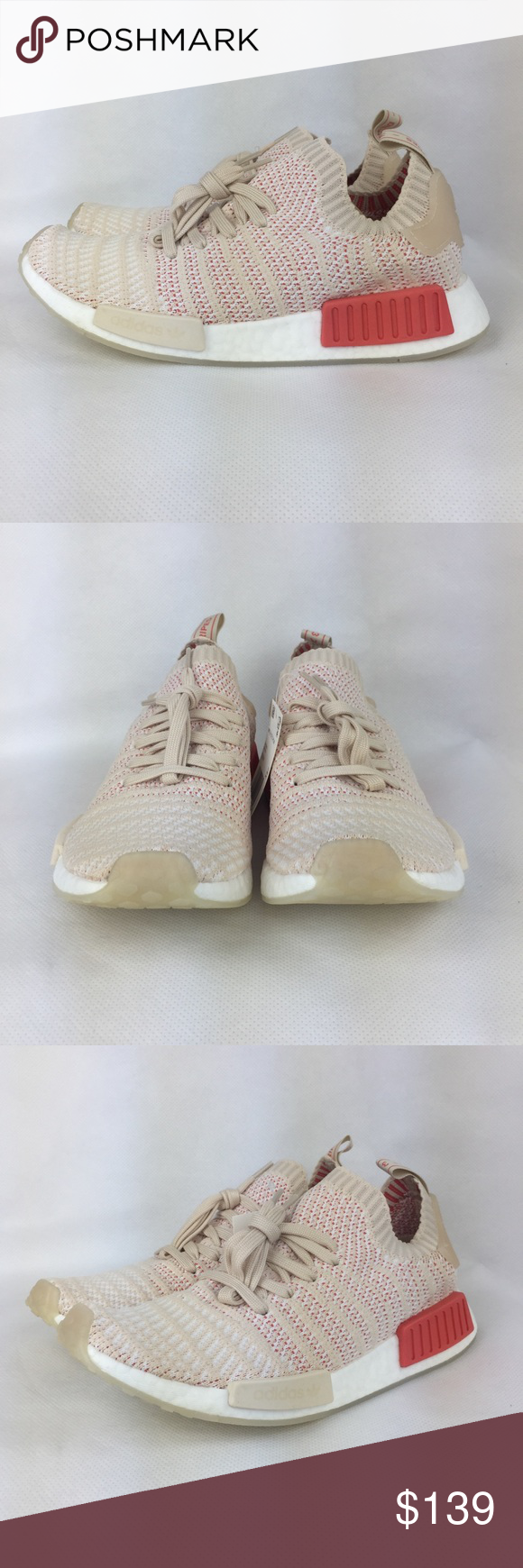 b910e67f144358 Adidas NMD R1 STLT Primeknit Pink Sneakers Adidas NMD R1 STLT Primeknit  Sneakers -Womens Size 9 -Pink -Brand New in Box with with tags Attached. - Last ...