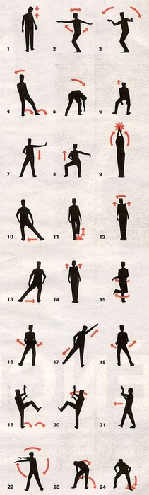 the thriller dance. NO WAY. I CAN FINALLY LEARN!!! @...and this will make it easy for others to learn ;)