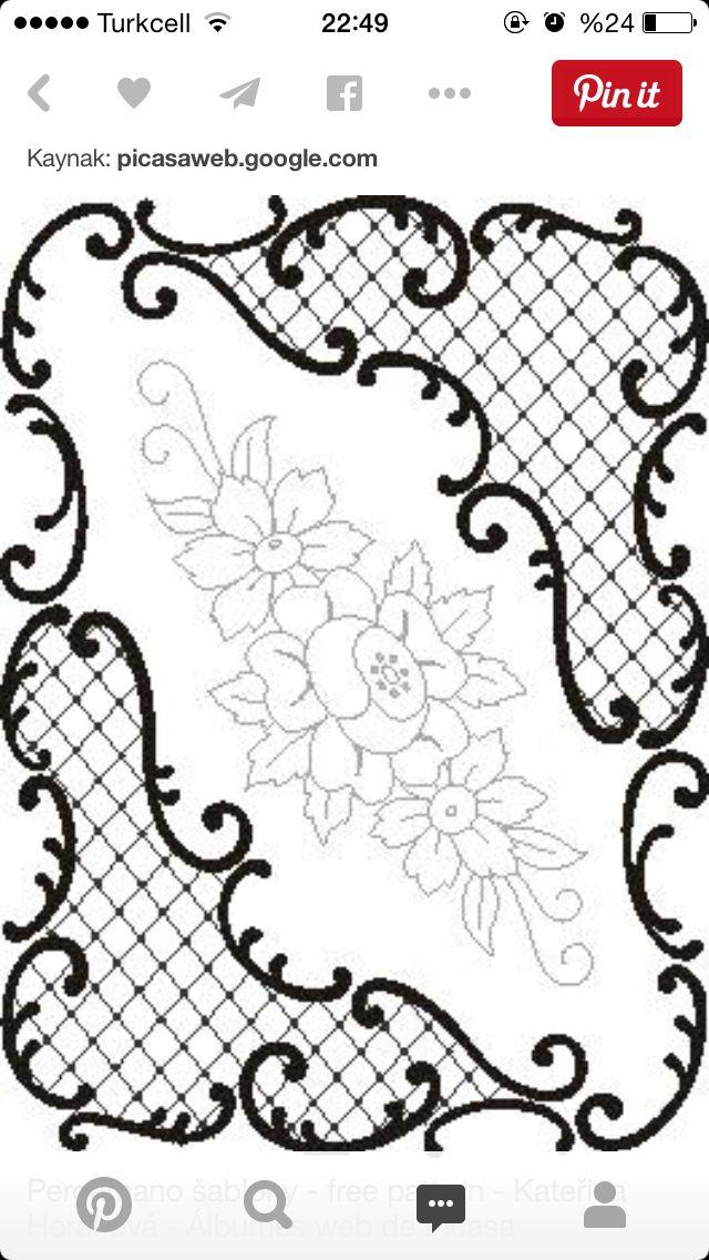 Asalet Acar Adli Kullanicinin Desen Panosundaki Pin Desenler Nakis Desenleri Kanavice