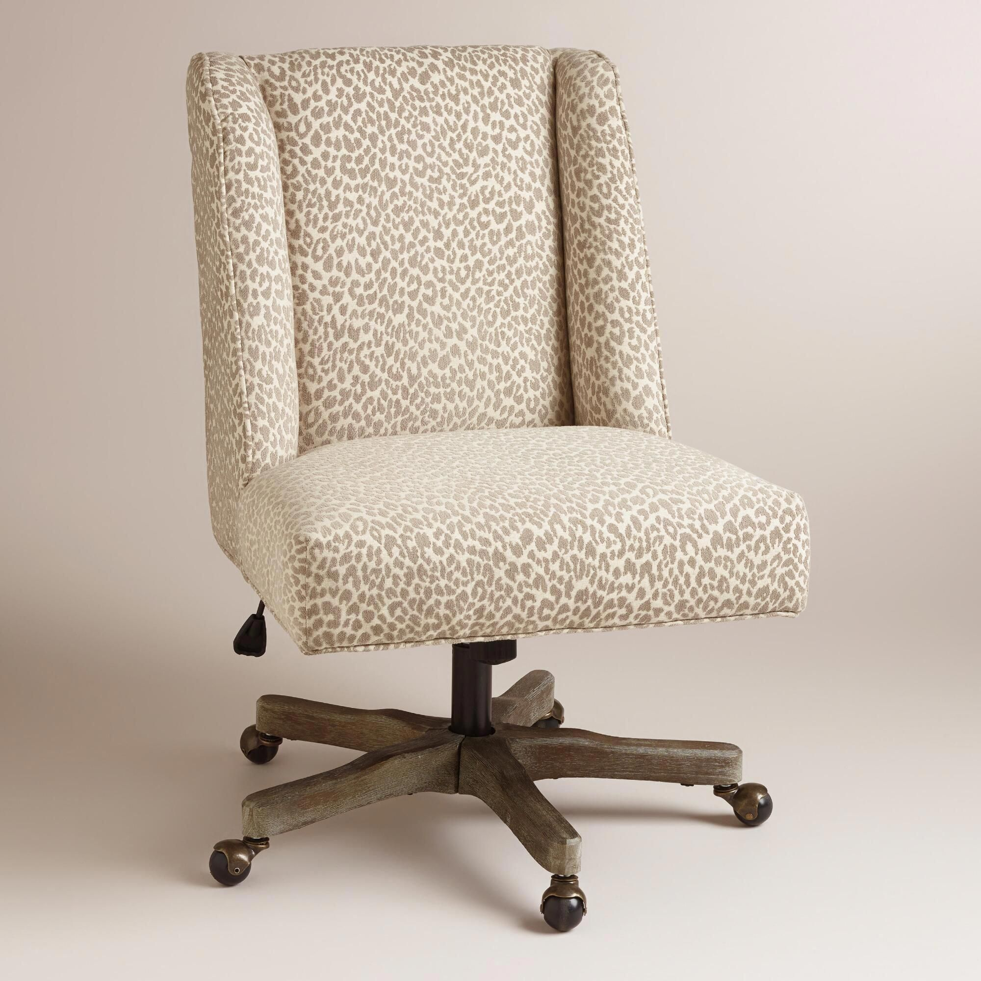 With An Updated Wingback Profile And Natural Hued Leopard Print