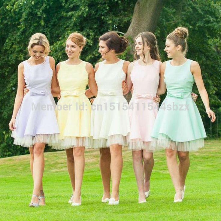Resultado de imagen para vestidos para damas de honor | Trajes ...