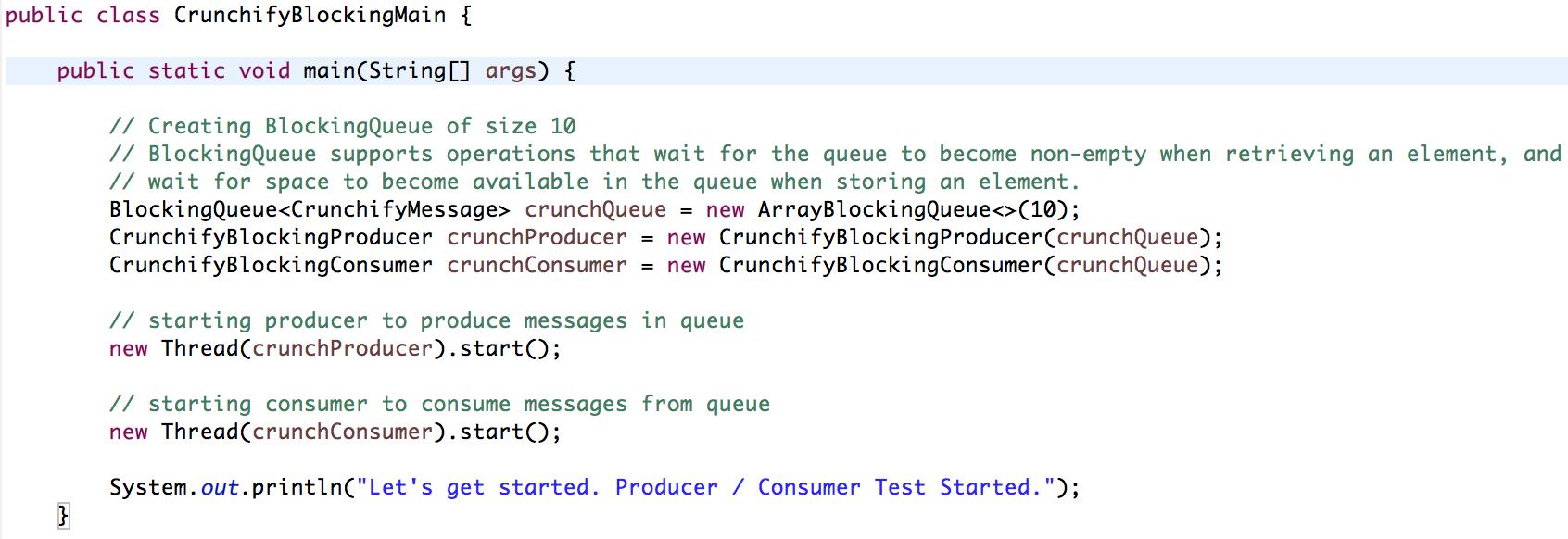 Java blocking queue example crunchify tips crunchify articles java blocking queue example crunchify tips baditri Images
