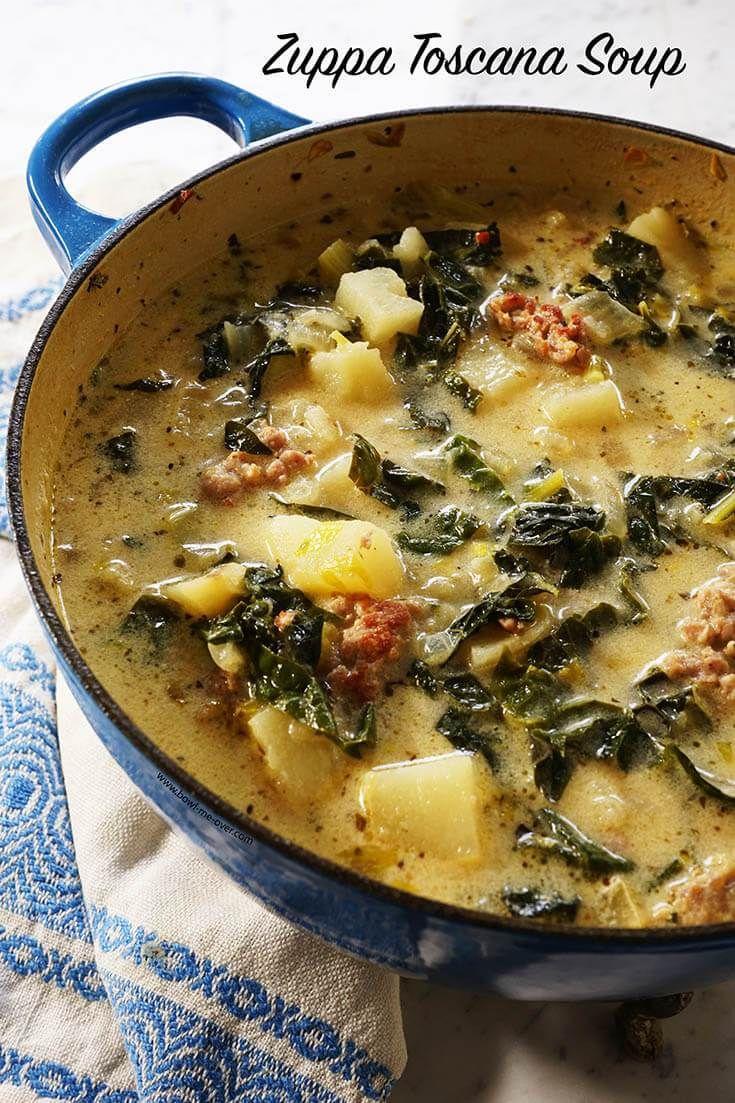 Zuppa Toscana Soup Recipe Zuppa toscana soup, Toscana