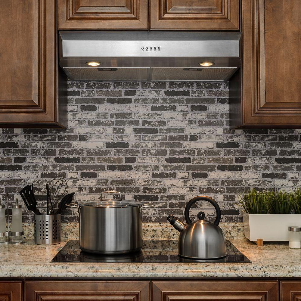 Best Kitchen Gallery: Akdy 30 In Kitchen Under Cabi Range Hood In Stainless Steel of Kitchen Hood Transitional Styles on rachelxblog.com