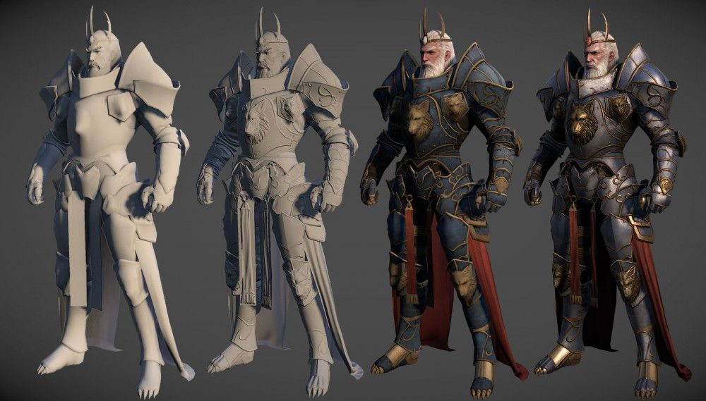 50 Realistic 3D Models and Character Designs for your