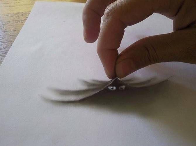 dibujos de a lapiz 3d faciles , Buscar con Google